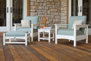 Decorate an outdoor patio