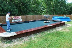 Backyard-Bowling-Ball-Pool-Table