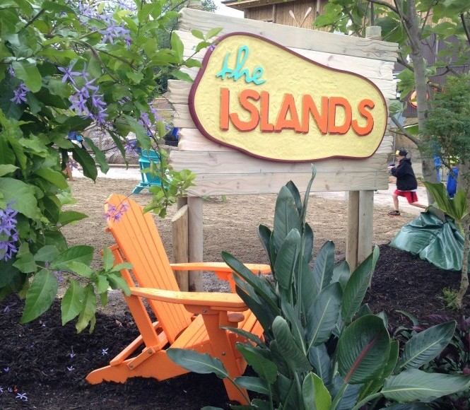 Outer Banks Adirondack Chairs at The Pittsburgh Zoo's Islands Exhibit