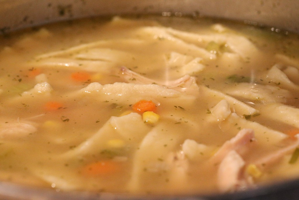 Chicken Noodle Soup - The ultimate comfort food?