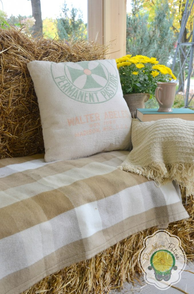 Hay Bale Lounger