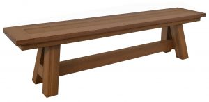 Montauk Backless Bench
