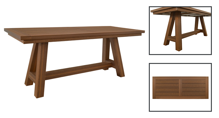 Montauk Table Features