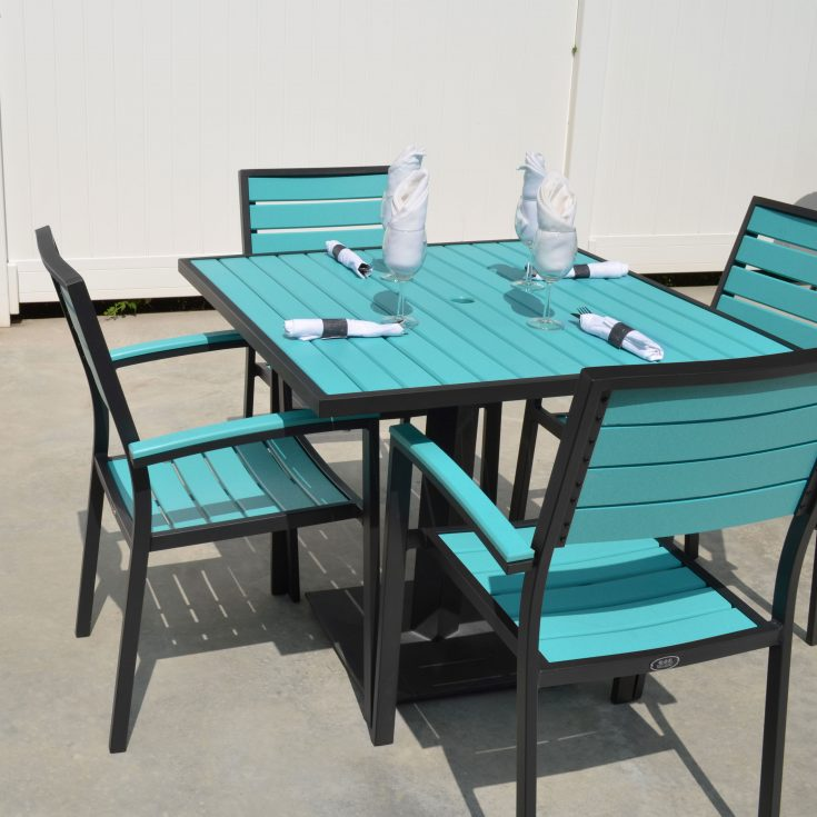 Caribbean Dining Collection on Patio