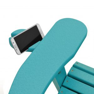 ECCB Outdoor Deluxe Adirondack Chair Cell Phone Holder