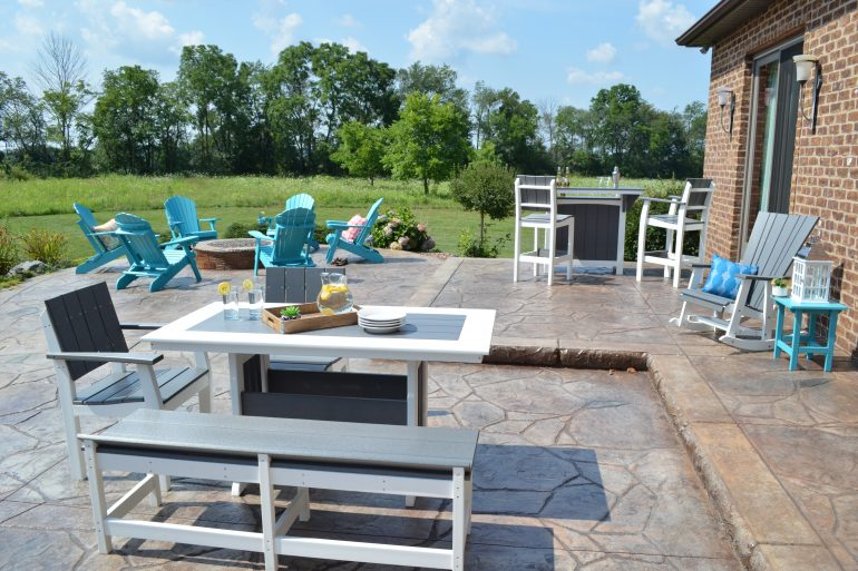 Poly Lumber Outdoor Patio Furniture