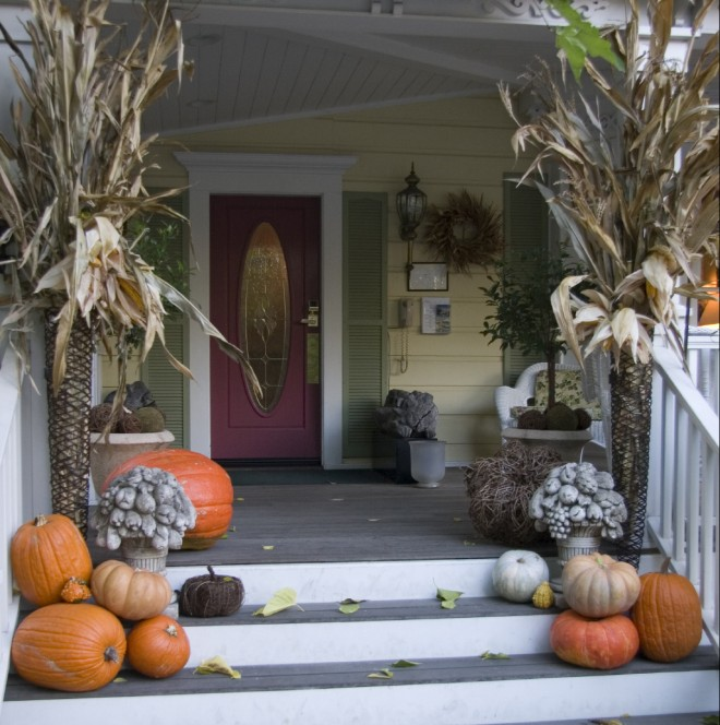 Porch and Patio Decorating Ideas For Fall