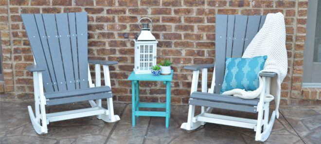 Poly Lumber Rocking Chairs