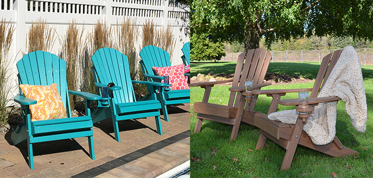 ECCB Outdoor Outer Banks Deluxe Adirondack Chair vs Value Line Adirondack Chair