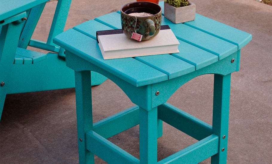Harbor Side Table on a Patio